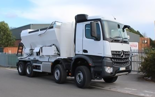 volumetric mixer truck concrete supply